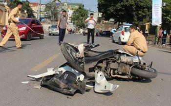 15 người thương vong vì tai nạn giao thông trong ngày đầu năm mới