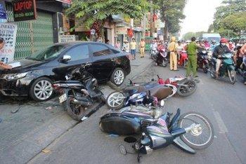 Hơn 420 người thương vong vì TNGT dịp Tết Kỷ Hợi 2019