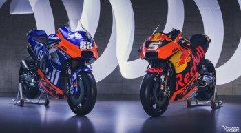 KTM Factory Team ra mắt xe đua KTM-RC16 cho Moto GP 2019