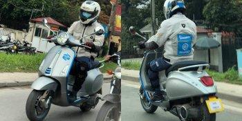 Vespa Electricia chạy thử trên đường phố Việt Nam, sắp được ra mắt chính thức tại Việt Nam?