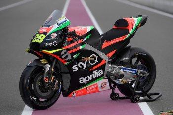 MotoGP 2019: Aprilia Racing bất ngờ ra mắt Aprilia RS-GP 2019