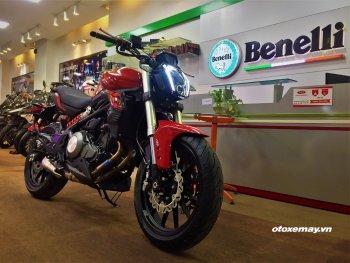 Cận cảnh Benelli 320s 2019 mới tại Hà Nội