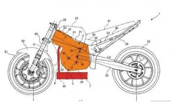 Suzuki hé lộ ý tưởng thiết kế môtô với động cơ lộn ngược