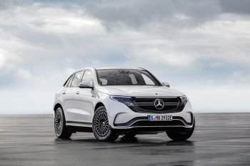 Sản xuất xe điện Mercedes-Benz EQC gặp rắc rối