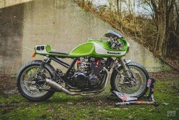Lạ mắt với bản độ Kawasaki Zephyr 750 Cafe Racer