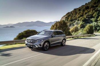 Mercedes GLC 2020 tăng mã lực, nội thất tiện nghi hơn