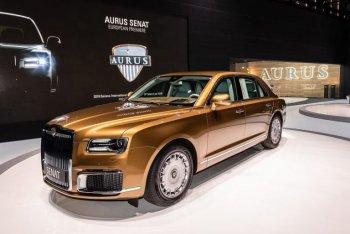 """""""Xe Rolls-Royce của Nga"""" được vén màn tại Triển lãm Ôtô Geneva 2019"""