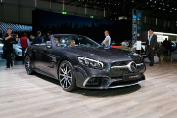 Ngắm mui trần hạng sang Mercedes-Benz SL Grand Edition