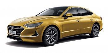 Hyundai Sonata 2020 bắt mắt với thiết kế hoàn toàn mới