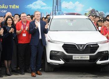 Vinfast hoàn thành việc sản xuất thử nghiệm SUV Lux SA2.0