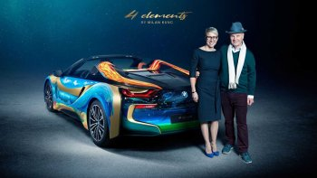 BMW i8 Roadster 4 Elements- lời kêu cứu của biển