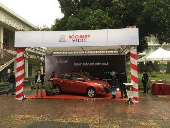 Toyota chia sẻ về những tính năng an toàn trên xe