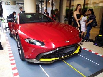 Aston Martin trình làng siêu xe thể thao giá từ 15 tỷ đồng tại TP.HCM