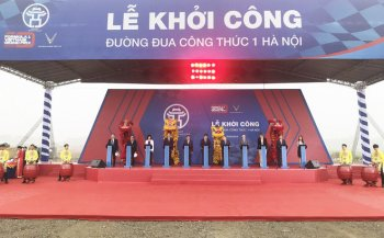 Hà Nội chính thức khởi công xây dựng đường đua F1