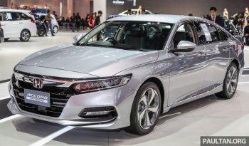 Honda Accord 2019 ra mắt Bangkok Motor Show, chuẩn bị về Việt Nam