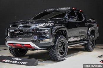 Mitsubishi Triton Absolute - đối thủ mới của Ford Ranger Raptor ?