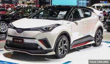 Toyota C-HR 2019 cực ngầu với bodykit GT