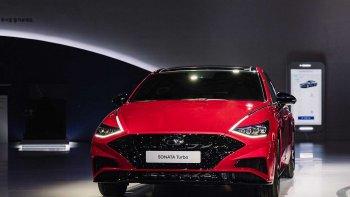 Hyundai Sonata 2020 tăng áp bất ngờ ra mắt Hàn Quốc