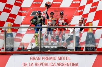 Chặng 2 MotoGP 2019: Marc Marquez thắng dễ dàng tại Argentina