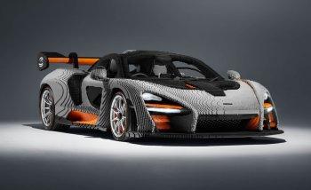 Độc đáo siêu xe McLaren Senna làm từ 500.000 miếng Lego