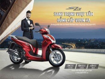 Honda SH300i mới giá từ 276,5 triệu đồng tại VN