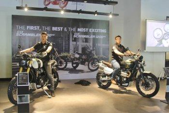 Triumph Việt Nam ra mắt Tiger 800, Speed Twin và Scrambler 2019 giá từ 349 triệu đồng