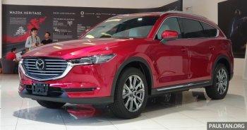 Mazda CX-8 chuẩn bị được bán ra tại Việt Nam ?