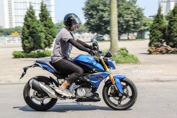 Lần đầu cầm lái BMW G310R - nakedbike cho người mới chơi xe