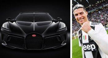 Cristiano Ronaldo tậu siêu xe Bugatti 19 triệu USD