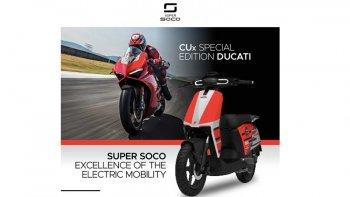 Ducati sản xuất xe ga chạy điện