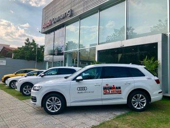 Audi Việt Nam hoàn thành nhiệm vụ vận chuyển trong IRONMAN Đà Nẵng