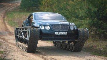 """""""Biến"""" Bentley Continental GT thành xe tăng hầm hố"""