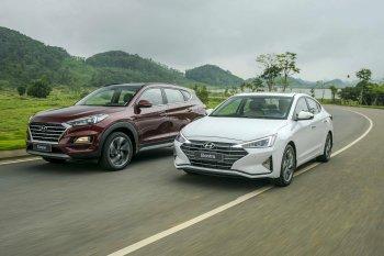 Hyundai Elantra 2019 và Tucson 2019 chính thức trình làng
