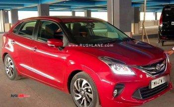 Clip Toyota Glanza, giá 182 triệu đồng ở Ấn Độ