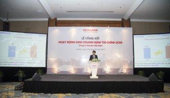 Với 2,56 triệu xe máy bán ra, Honda Việt Nam chiếm tới 76,8% thị phần xe máy toàn quốc