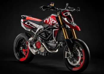 Ducati Hypermotard 950 Concept giành giải thưởng thiết kế mới