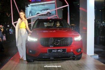 Ra mắt Volvo XC40 2019 giá 1,75 tỷ đồng tại TP.HCM