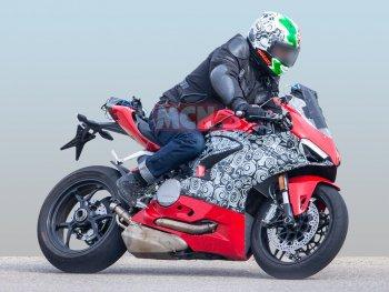 Rò rỉ hình ảnh mẫu xe mới thay thế cho 959 Panigale của Ducacti