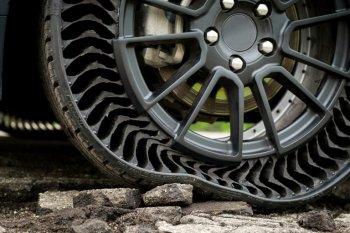 Lốp không hơi có mặt trên thị trường năm 2024