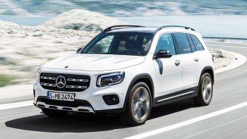Cận cảnh mẫu xe hoàn toàn mới Mercedes-Benz GLB 2020