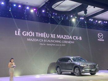 """Mazda CX-8 hoàn toàn mới với """"ngập"""" các trang bị an toàn, giá cao nhất 1,4 tỷ đồng"""
