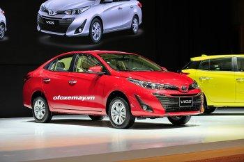 Toyota Vios giảm giá hơn 40 triệu đồng trước sức ép của đối thủ