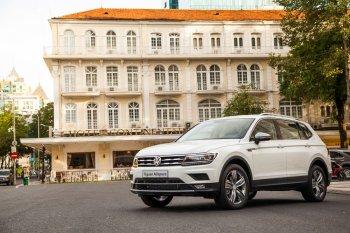 Volkswagen Việt Nam triệu hồi 375 xe Tiguan vì lỗi hệ thống treo