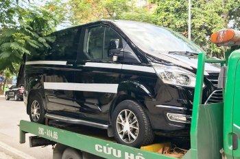 Bắt gặp xe MPV Ford Tourneo 2019 trên phố Hà Nội
