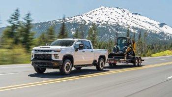Ngắm xe bán tải cỡ đại Chevrolet Silverado HD 2020