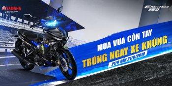Yamaha tung ưu đãi lớn cho khách hàng: Mua Exciter, trúng xe PKL