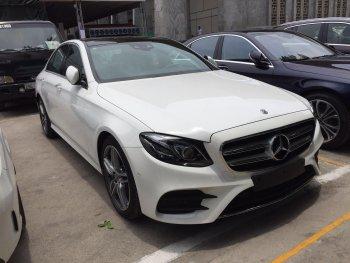 Mercedes-Benz Việt Nam chuẩn bị trình làng E 350 AMG mới