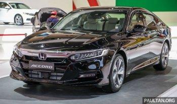 Honda Accord mới ra mắt Đông Nam Á