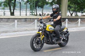 Cảm xúc ngập tràn khi cầm lái Ducati Scrambler 800 Icon 2019