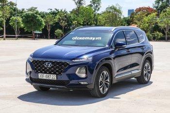 Hyundai SantaFe 2019: một chiếc SUV nhấn mạnh về công nghệ